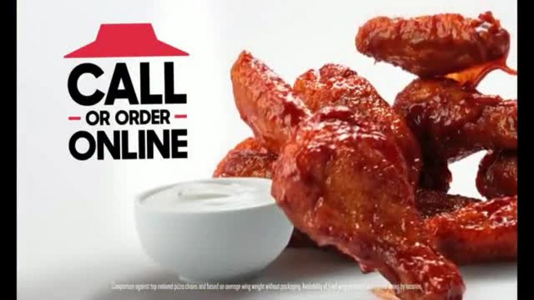 Pizza Hut TV Commercial Ad, Wings Bigger and Better.mp4