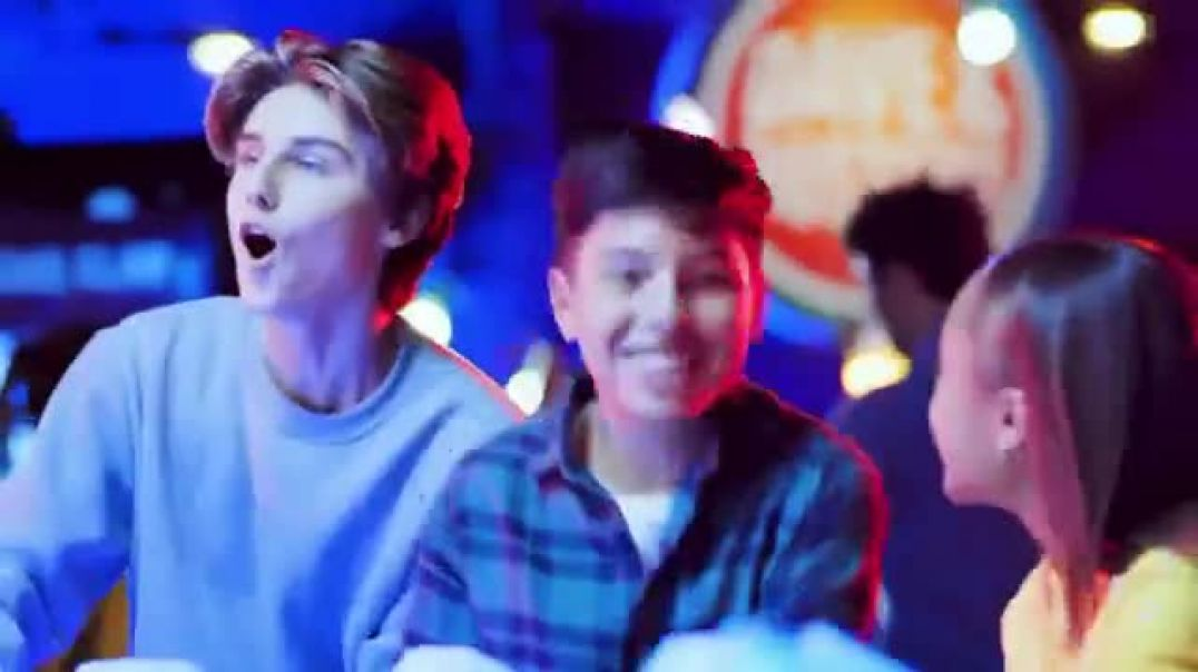 Dave and Busters TV Commercial Ad, Holidays Hot Wheels King of the Road Game.mp4