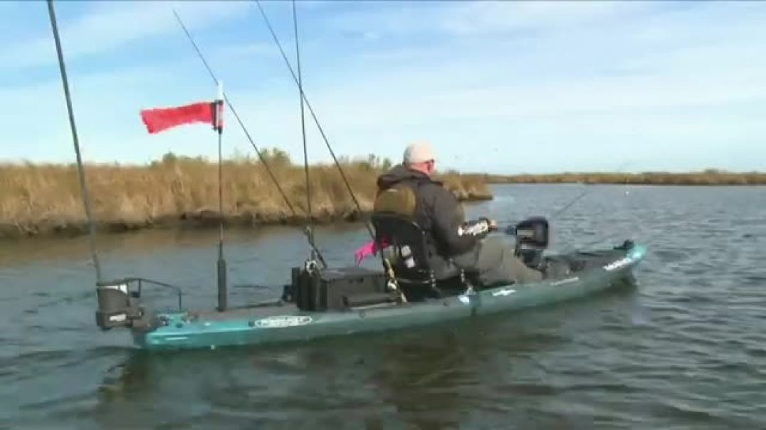 Wilderness Systems A T A K Kayak TV Commercial Ad, Fishing.mp4