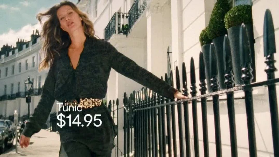 H&M TV Commercial Ad, Fall Fashion Featuring Gisele Bundchen.mp4