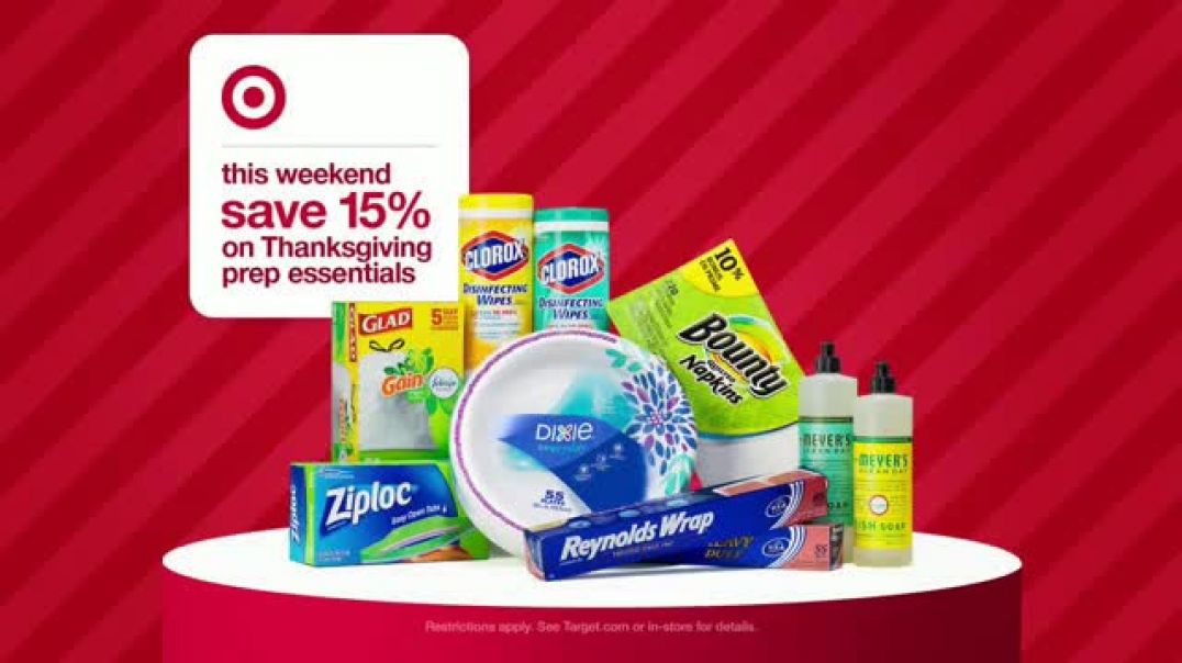 Watch Target Tv Commercial Ad What We Bring Brings Us