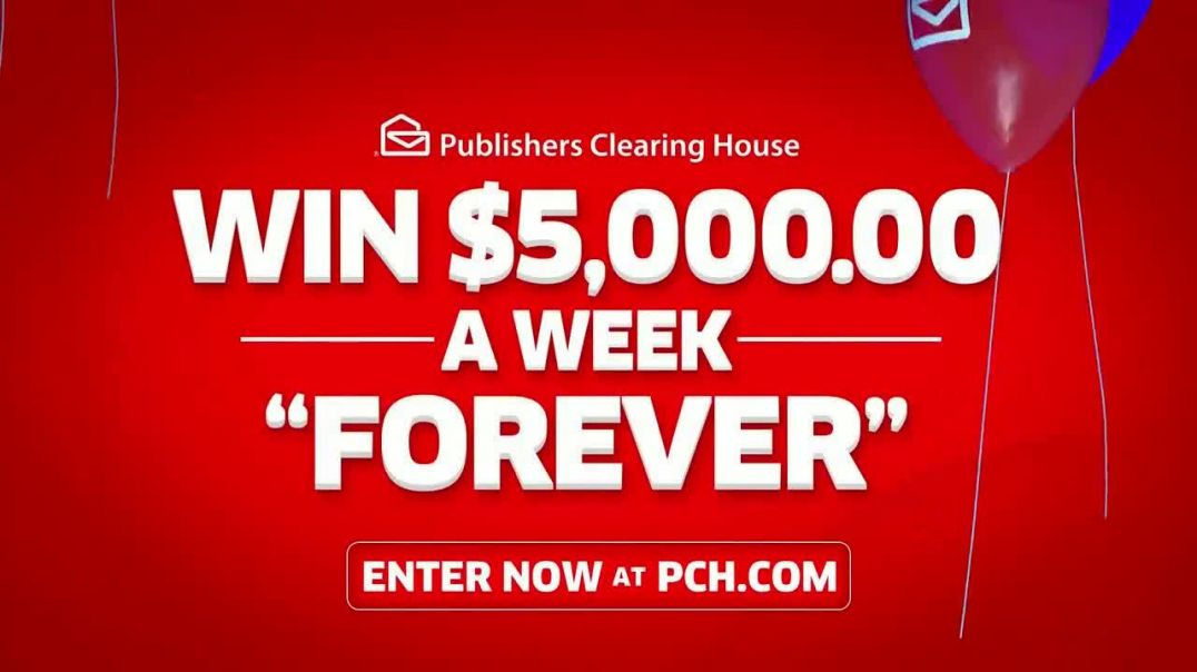 Publishers Clearing House TV Commercial Ad, $5,000 a Week Win Big Featuring Steve Harvey.mp4