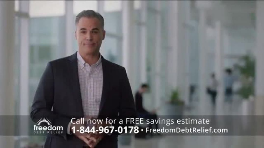 Freedom Debt Relief TV Commercial Ad, An Affordable Debt Solution.mp4