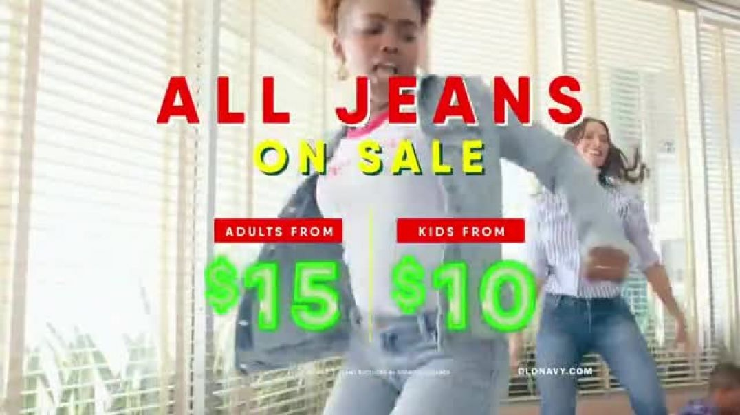Old Navy TV Commercial Ad, Jukebox Jeans Song by Earl Juke.mp4
