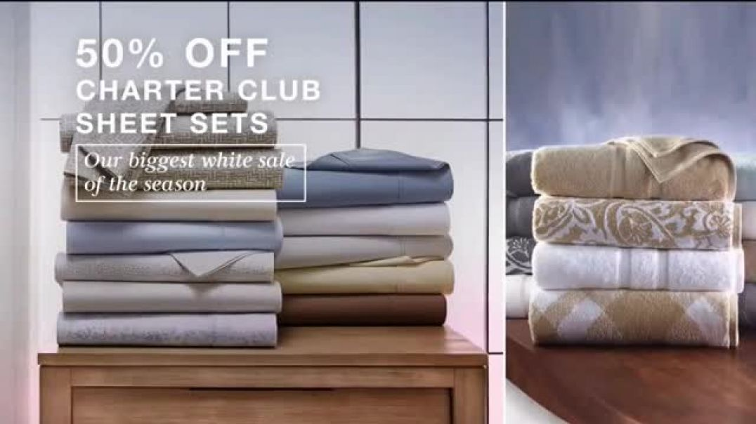 Macys After Christmas Sale TV Commercial Ad, Incredible Deals Apparel, Sheets and Underwear