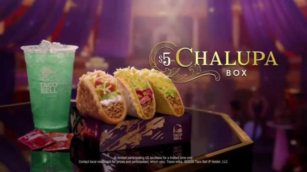 Taco Bell $5 Chalupa Box TV Commercial Ad, Big Show.mp4