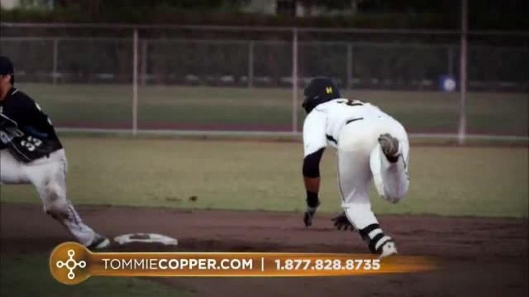 Tommie Copper TV Commercial Ad, Look Like a Baseball Player.mp4