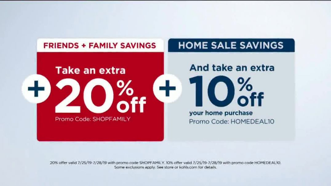Kohls Super Saturday TV Commercial Ad, Kitchen Electrics, Towels and Pillows.mp4