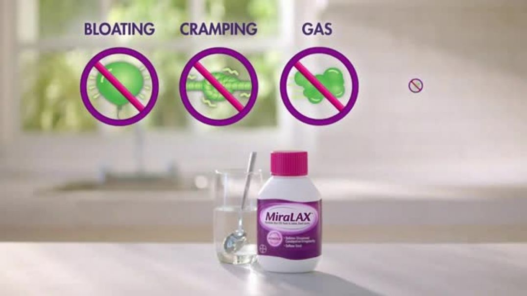 MiraLAX TV Commercial Ad, Unblock Your System Naturally.mp4