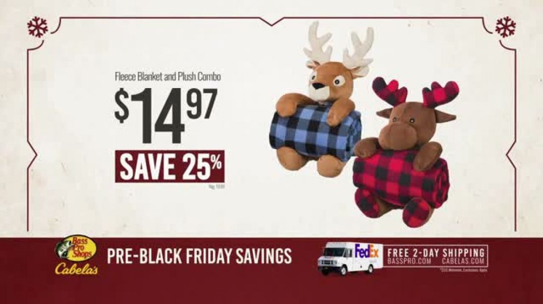 Bass Pro Shops Kickoff Sale TV Commercial Ad, Shirts & Fleece Combos
