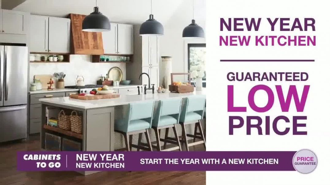Cabinets To Go TV Commercial Ad, New Year New Kitchen 35 Percent Off.mp4