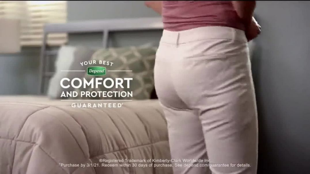 Depend FITFLEX Underwear for Women TV Commercial Ad, Playtime Fun.mp4