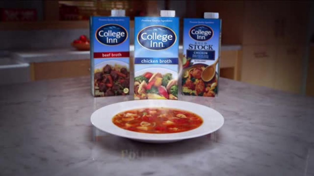 College Inn Broth TV Commercial Ad, Get Inspired.mp4