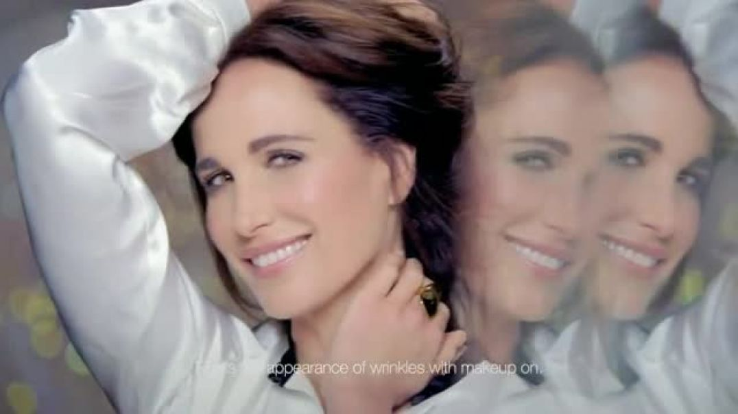 LOreal Visible Lift Repair Absolute TV Commercial Ad Featuring Andie MacDowell.mp4