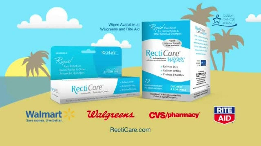 Recticare Dual Action Relief TV Commercial Ad, Relieve Pain & Irritation