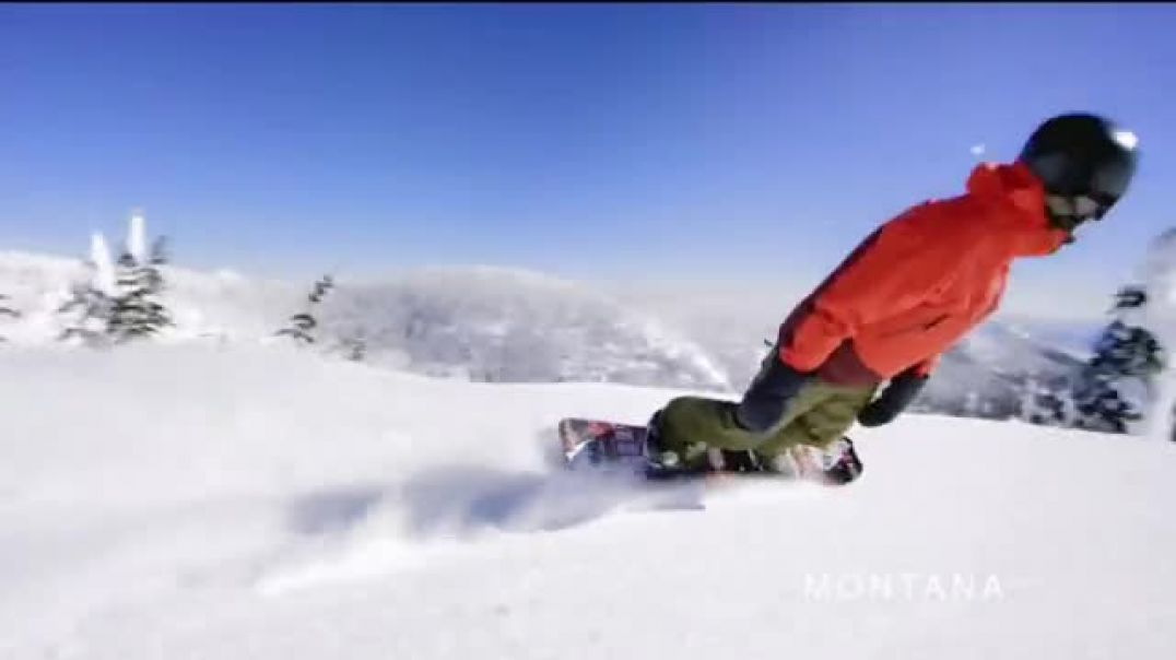 Visit Montana TV Commercial Ad, Your Montana Moment Slopes.mp4