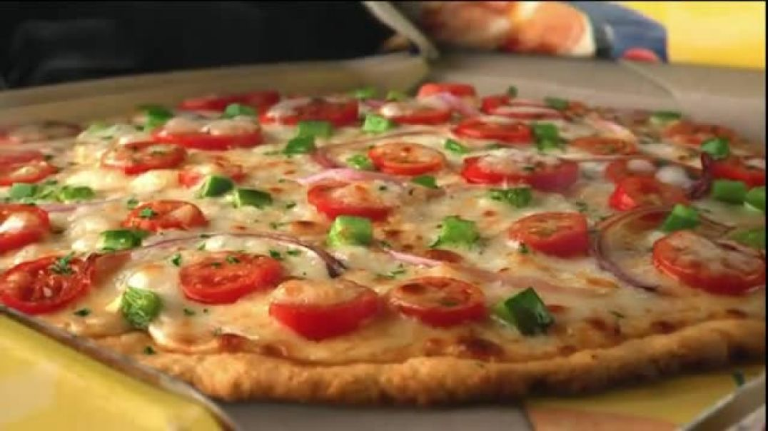 Bisquick Pizza TV Commercial Ad, Pizza Dough.mp4