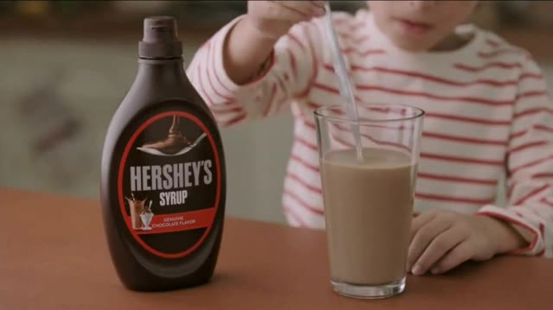 Hersheys Syrup Genuine Chocolate Flavor TV Commercial Ad, Mess.mp4