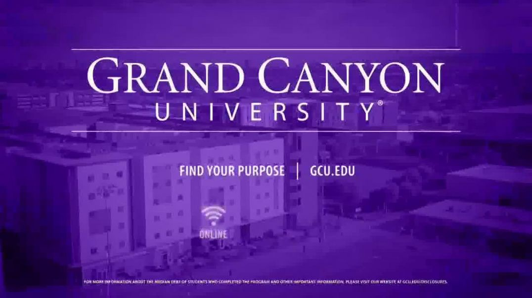 Grand Canyon University TV Commercial Ad, Find Your Purpose Advanced Technologies Drive Education.mp