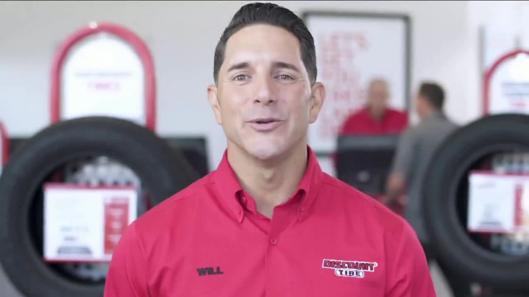Discount Tire Black Friday Event TV Commercial Ad, 10 Percent Off Purchase Price.mp4