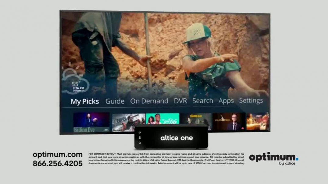 Optimum Spring Sale TV Commercial Ad, Upgraded Operating System.mp4
