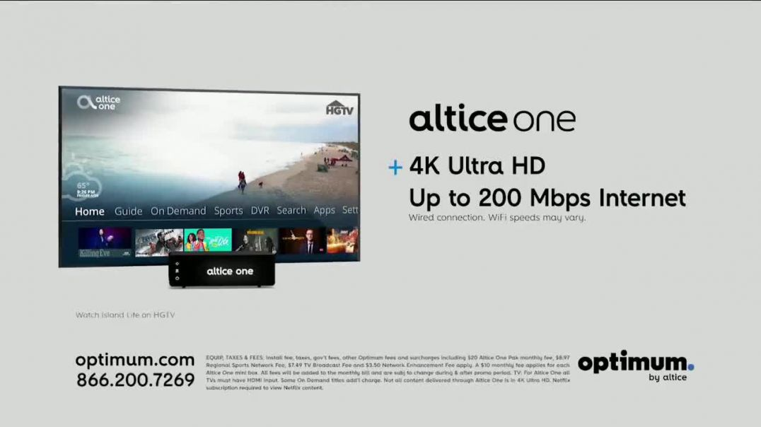 Optimum Altice One TV Commercial Ad, Big Summer Deals American Express Gift Card.mp4
