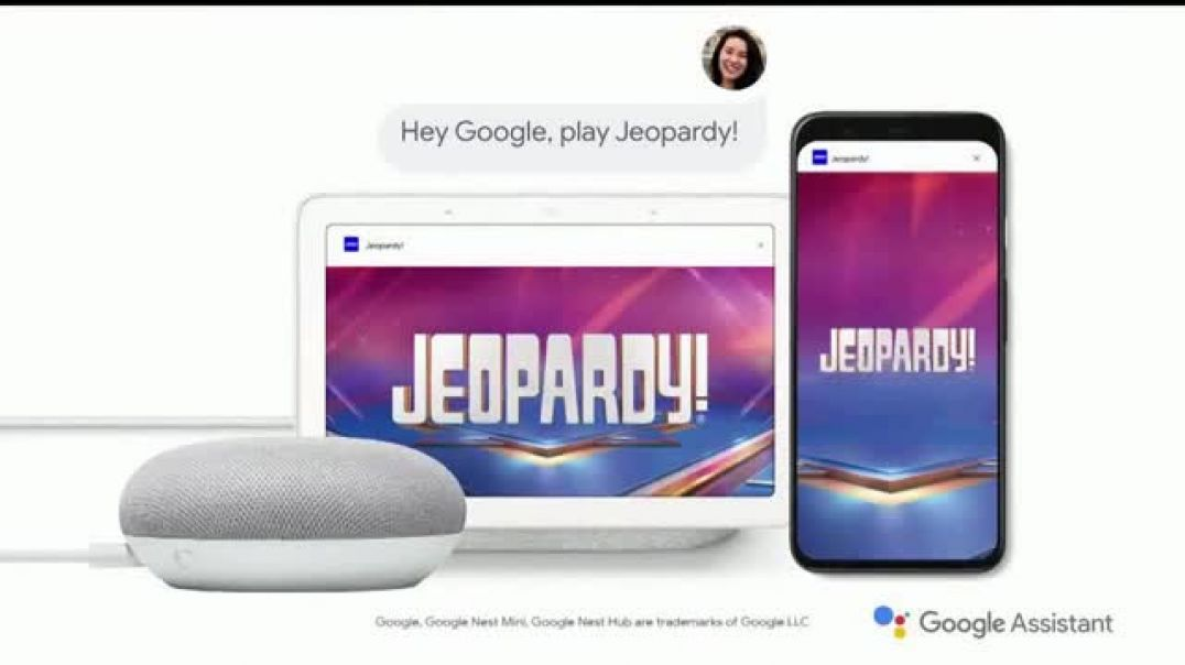 Google Assistant TV Commercial Ad, Jeopardy! Clue for You Legendary Host.mp4