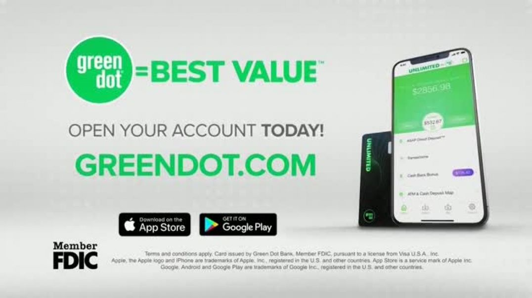 Green Dot Cards TV Commercial Ad, Shop Online.mp4