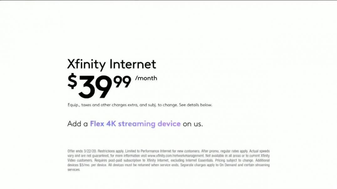 XFINITY Flex TV Commercial Ad, Made for You.mp4