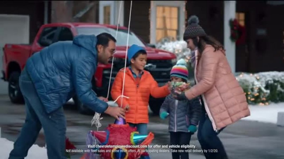 Chevrolet Employee Discount For Everyone TV Commercial Ad, Family Dynamics.mp4
