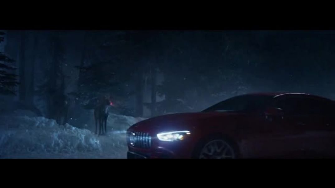 MercedesBenz Winter Event TV Commercial Ad, Glow.mp4