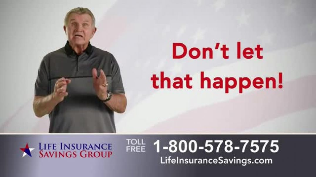 Life Insurance Savings Group TV Commercial Ad, Funeral Expenses and Debt Featuring Mike Ditka.mp4