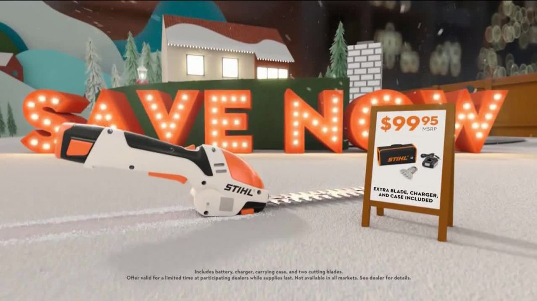 STIHL TV Commercial Ad, Hard to Wrap, Easy to Give Garden Shears.mp4