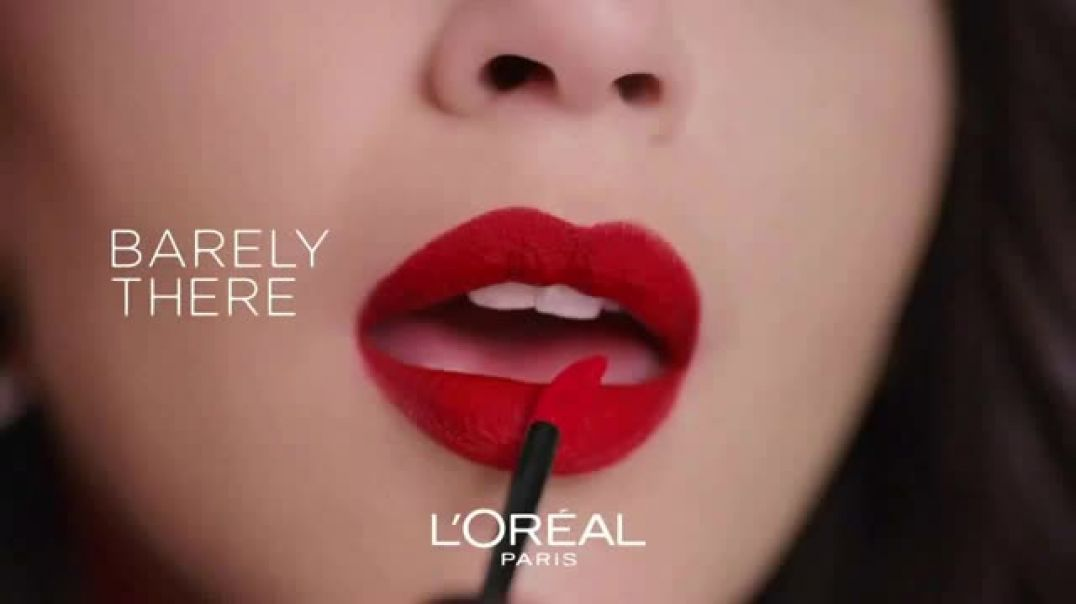 LOreal Paris Cosmetics Rouge Signature TV Commercial Ad, Sign Your Lips.mp4