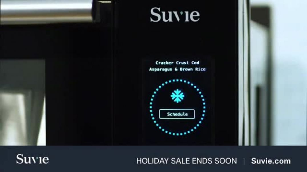 Suvie Holiday Sale TV Commercial Ad, Revolutionizing Dinner.mp4