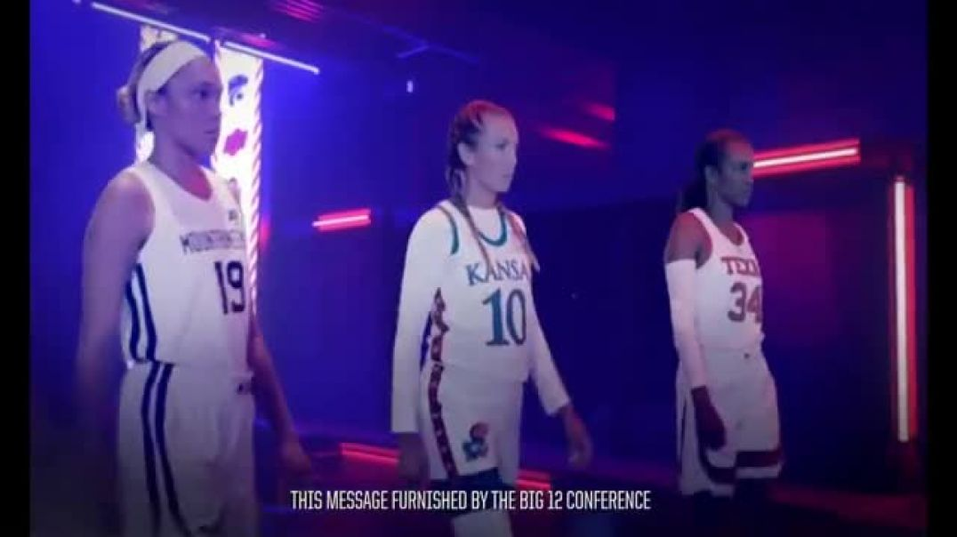 Big 12 Conference TV Commercial Ad, Unlike Any Other Womens College Basketball.mp4