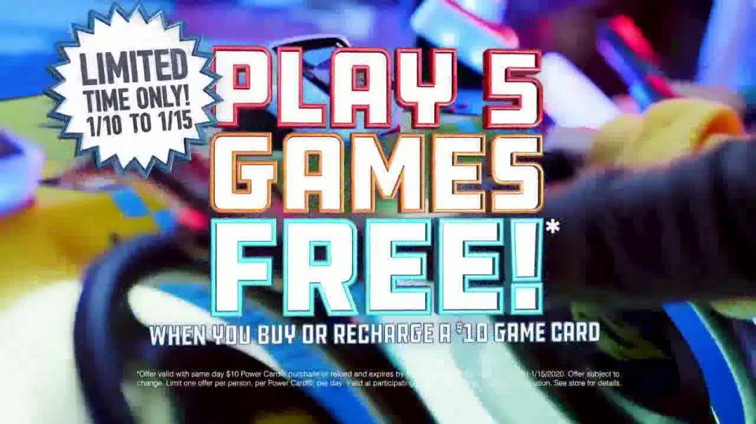 Dave and Busters TV Commercial Ad, New Years, New Games, and New Fun.mp4