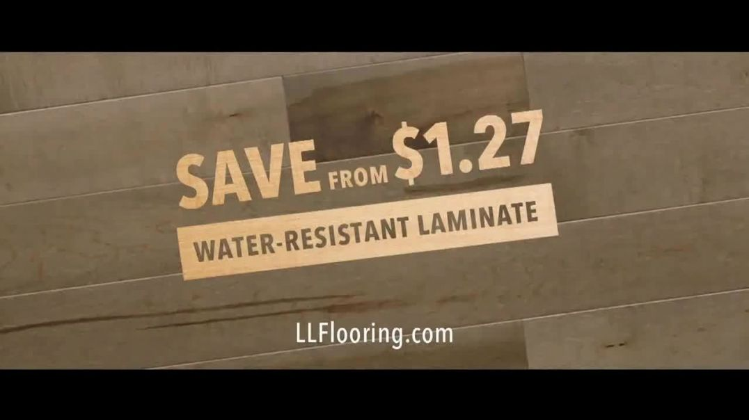 Lumber Liquidators TV Commercial Ad, The Answer Is Yes Save on WaterResistant Laminate.mp4