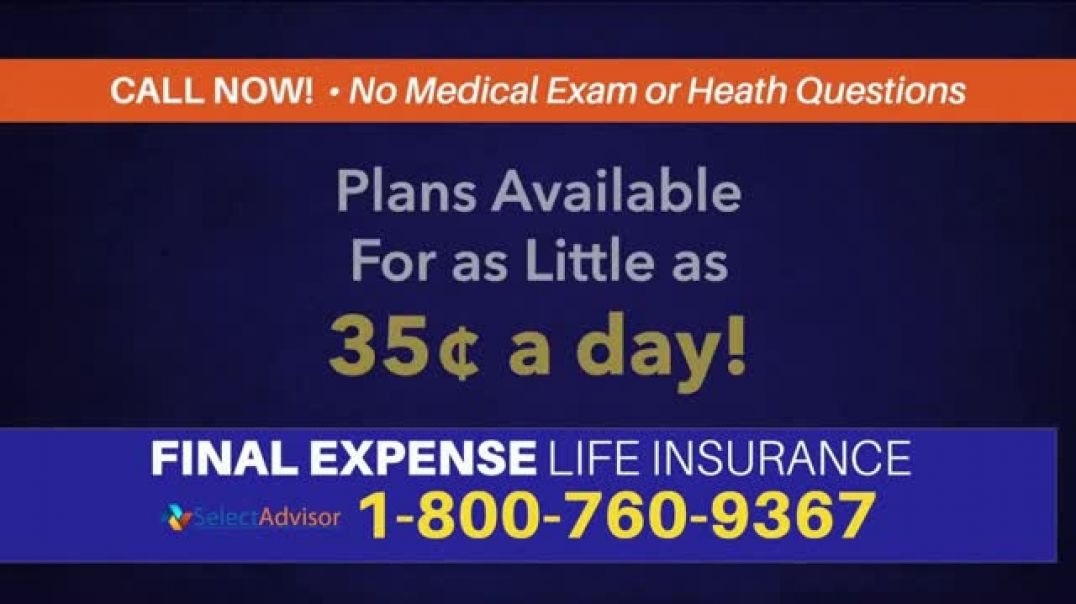 Select Advisor TV Commercial Ad, Life Insurance Final Expenses.mp4