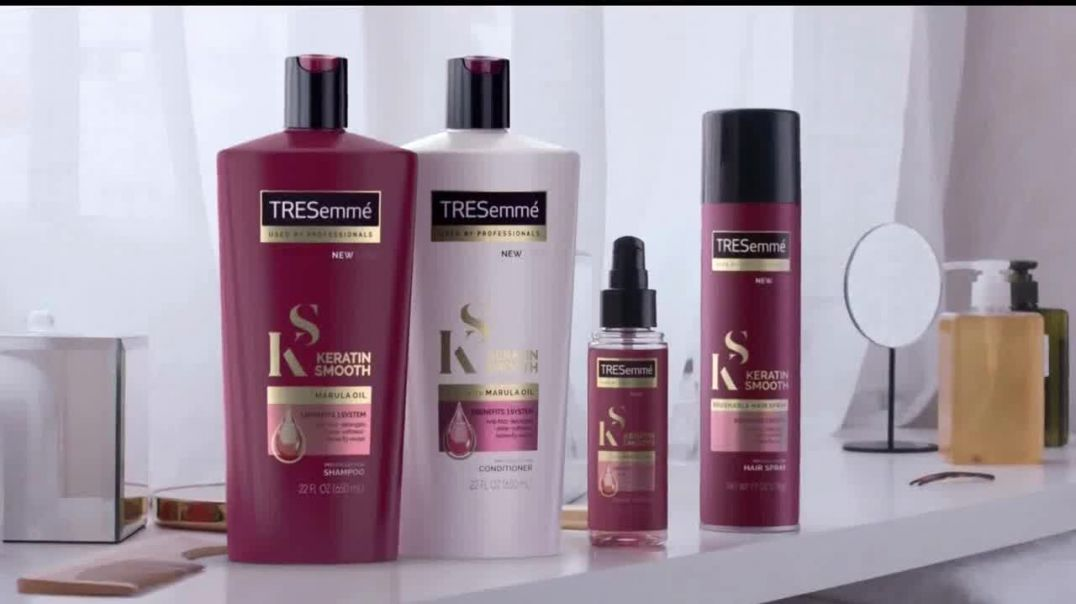 TRESemmé Keratin Smooth TV Commercial Ad, Haz lo tuyo.mp4