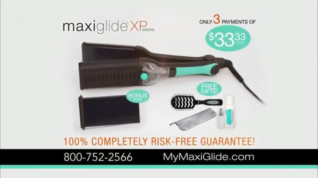 Maxius MaxiGlide XP Digital TV Commercial Ad, Ultimate System.mp4