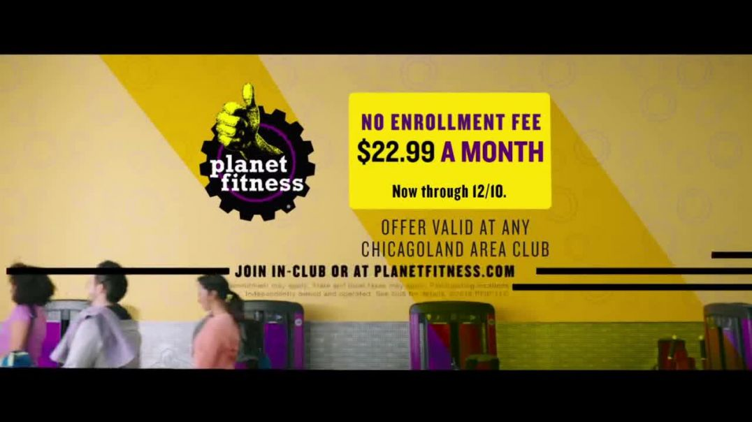 Planet Fitness TV Commercial Ad, All the Perks December.mp4