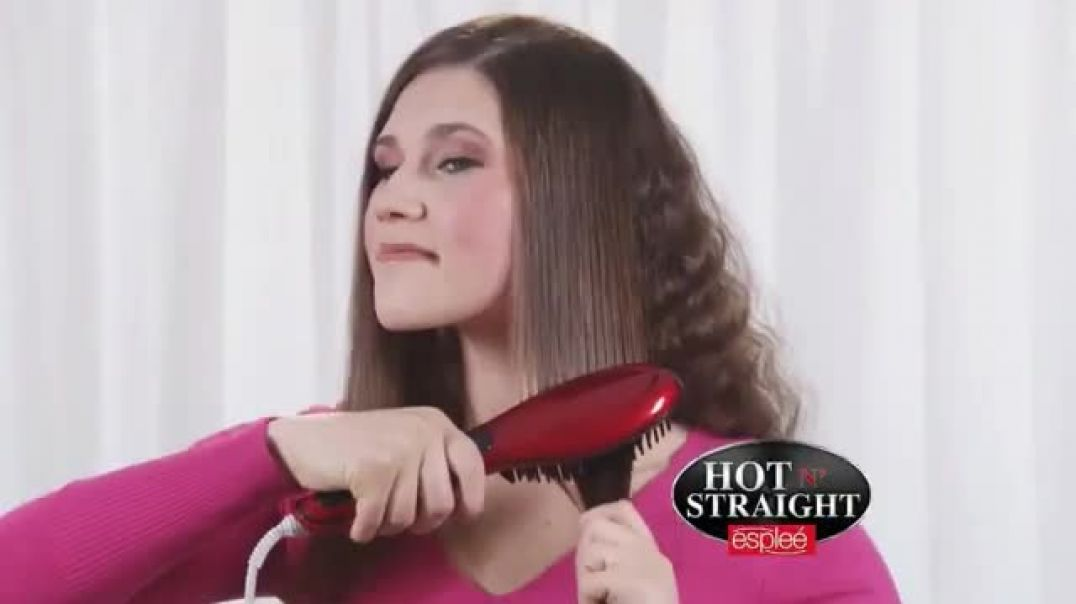 Hot N Straight by esplee TV Commercial Ad, Brush and Style.mp4
