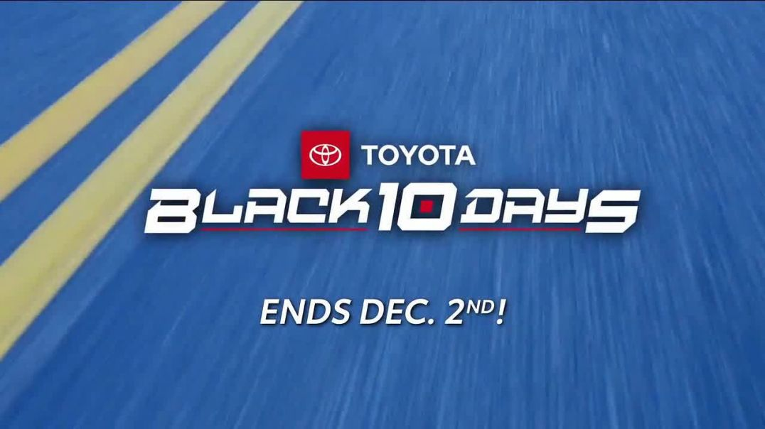 Toyota Black 10 Days TV Commercial Ad, 10 Days of Incredible Savings.mp4