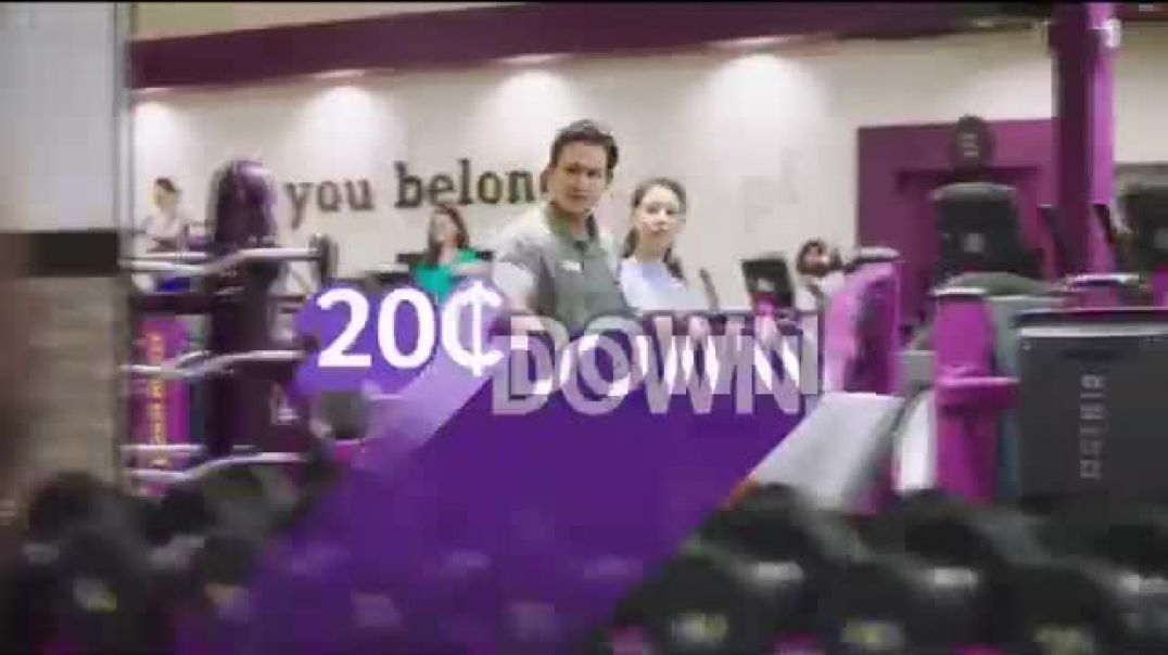 Planet Fitness TV Commercial Ad, 20 Cents Down, $10 a Month.mp4