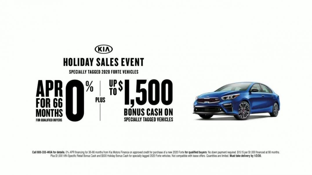 Kia Holiday Sales Event TV Commercial Ad, Hurry In.mp4