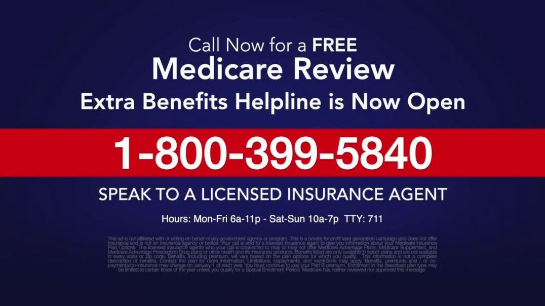 Medicare Benefits Helpline TV Commercial Ad, New Year Extra Benefits.mp4