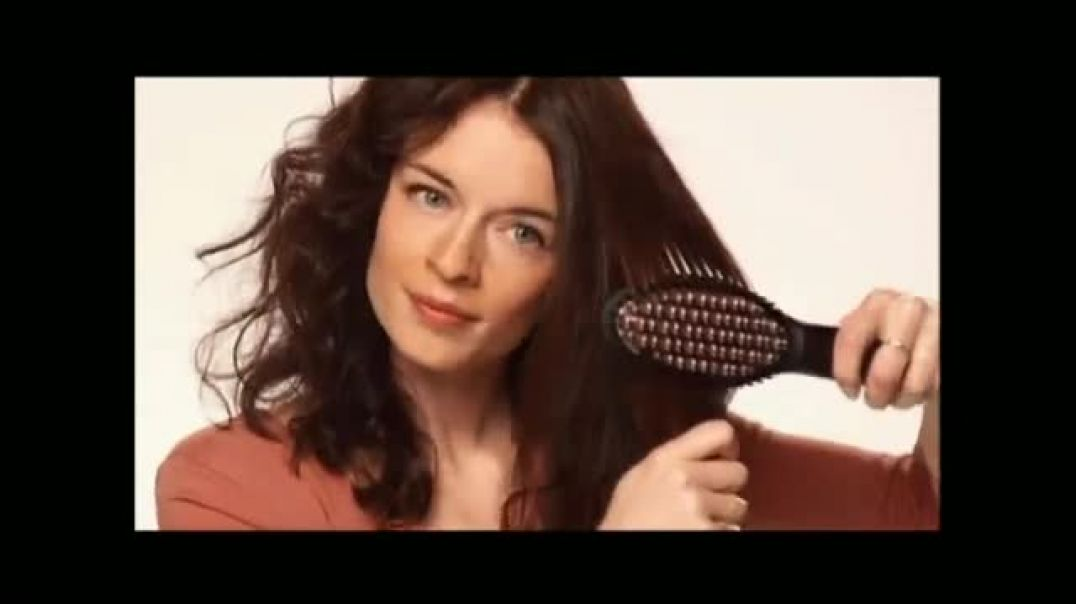 Perfectly Straight TV Commercial Ad, Brush Your Hair Straight
