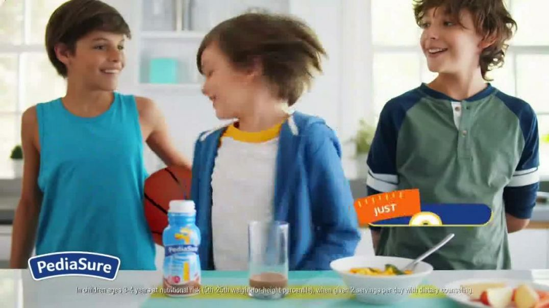 PediaSure Grow & Gain Shakes TV Commercial Ad, A Lot to Look Up to Organic.mp4