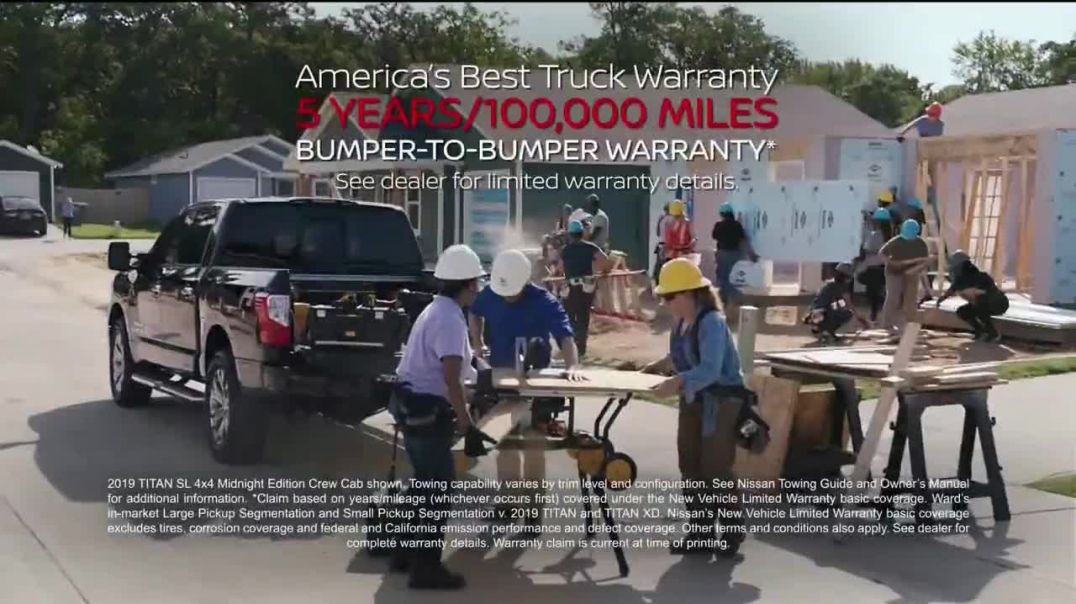 2019 Nissan Titan TV Commercial Ad, Work Smarter.mp4